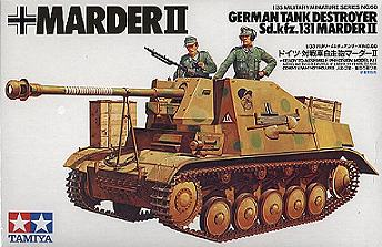 hobbymex 35060 german tank destroyer marder ii 131. Black Bedroom Furniture Sets. Home Design Ideas